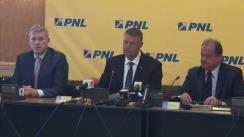 Conferință de presă după Biroul Politic Național al PNL-PDL din 11 august 2014