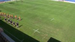 Meciul de rugby între România U18 - Scoția U19