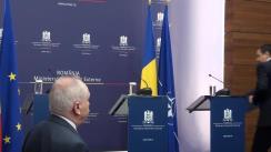 Conferință de presă susținută de prim-ministrul României, Victor Ponta, și ministrul Afacerilor Externe, Titus Corlățean