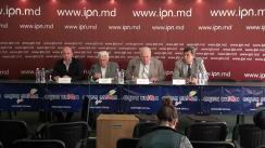 """Conferința de presă cu tema """"De ce Republica Moldova are nevoie de o Grădină Botanică de tip european?"""""""