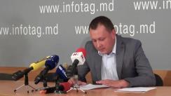 Conferință de presă susținută de deputatul PCRM, Grigore Petrenco