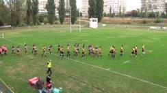Meciul de rugby între CSM Olimpia București - U Cluj. Etapa 5 - Play Off
