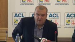 Conferință de presă susținută de deputații ACL Theodor Nicolescu, Tinel Gheorghe și Cristina Pocora