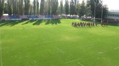 Meciul de rugby între Steaua București - CSM București. Tur Play-Out