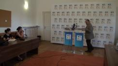 Conferință de presă susținută de senatorul PNL, Sorin Roșca Stănescu, și liderul grupului PNL din Consiliul General al municipiului București, Cornel Pieptea