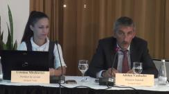 """Conferință de presă cu tema """"Aeroportul Tuzla - premise de dezvoltare strategică și internațională"""""""