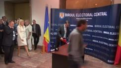 Depunerea dosarului de înregistrare a candidaturii președintelui PMP, Elena Udrea, pentru funcția de Președinte al României