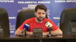 Conferință de presă susținută de deputatul neafiliat Aurelian Mihai privind situația din prezent a comunităților de români din afara granițelor țării