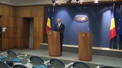 Conferință de presă susținută de viceprim-ministrul României, Liviu Dragnea, și vicepremierul Chinei, Zhang Gaoli
