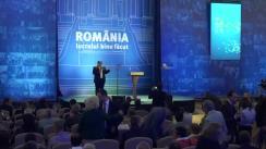 """Lansarea oficială a Programului prezidențial """"România lucrului bine făcut"""" al candidatului Alianței Creștin-Liberale, Klaus Iohannis"""