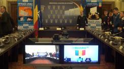 Videoconferință organizată de Ministerul Afacerilor Interne cu prefecții, în contextul începerii campaniei electorale pentru alegerea Președintelui României