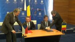 Conferință de presă susținută de Titus Corlățean și Lubomír Zaorálek, ministrul Afacerilor Externe al Republicii Cehe