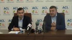 Conferință de presă susținută de vicepreședintele PNL, Teodor Atanasiu, și liderul consilierilor liberali din cadrul CGMB, Cornel Pieptea, privind situația apei calde din Capitală