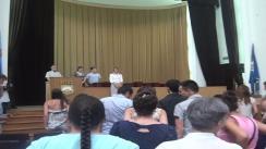 Primarul general al Capitalei, Sorin Oprescu, decernează diplome IN HONORIS absolvenților șefi de promoție ai liceelor bucureștene