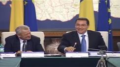 Ședința Guvernului României din 15 octombrie 2014 (imagini protocolare)