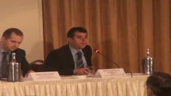 """Conferința """"Intrarea în vigoare a noului Cod civil"""". Discursul lui Horatius Nicolae Dumbrava, Presedinte Consiliul Superior al Magistraturii"""