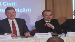 """Conferința """"Intrarea în vigoare a noului Cod civil: realități și provocări legislative ale modernizării societății românești"""". Panelul I"""