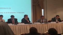 """Conferința """"Intrarea în vigoare a noului Cod civil: realități și provocări legislative ale modernizării societății românești"""". Panelul III"""