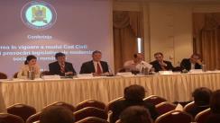 """Conferința """"Intrarea în vigoare a noului Cod civil: realități și provocări legislative ale modernizării societății românești"""". Panelul IV"""