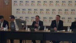 Conferință de presă susținută de deputații Theodor Nicolescu, Cristian Buican și Mircea Cazan