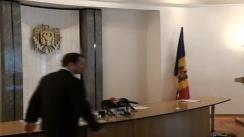 Prim-ministrul Vladimir Filat în vizită la Ministerul Tehnologiilor Informaționale și Comunicațiilor