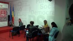 Conferință de presă după Biroul Permanent Național al PSD din 21 octombrie 2014