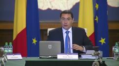 Ședința Guvernului României din 21 octombrie 2014 (imagini protocolare)