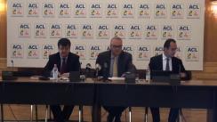 Conferință de presă susținută de deputați George Scutaru și Tinel Gheorghe