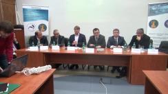 """Dezbaterea organizată de Fundația Universitară a Mării Negre cu tema """"NATO și securitatea regională. Cazul Republicii Moldova"""""""