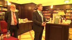 """Lansarea cărții """"Gazele de șist și fracturarea hidraulică între mit și realitate"""", de Constantin Crânganu"""