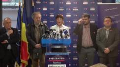 Briefing susținut de candidatul independent la Președinția României, Monica Macovei