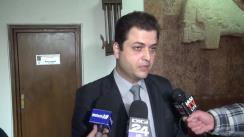 Declarațiile liderului grupului PSD din Consiliul Județean Iași, Cristi Stanciu și Cristian Adomniței, Președintele CJ Iași