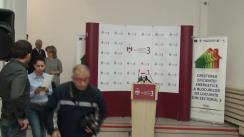 Conferință de presă susținută de ministrul dezvoltării regionale și administrației publice, Liviu Dragnea, și primarul Sectorului 3, Robert Sorin Negoiță