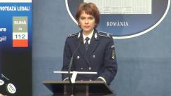 Briefing susținut de reprezentantul Ministerului Afacerilor Interne privind desfășurarea alegerilor prezidențiale
