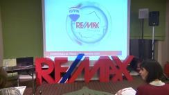 Conferință de presă organizată de compania imobiliară RE/MAX