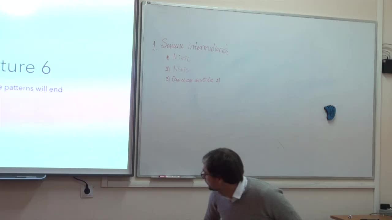 Ingineria produselor program. Lecția 6