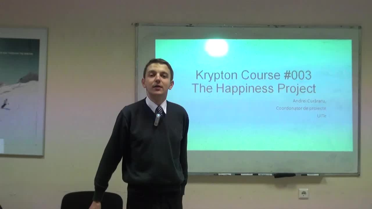 Krypton Course #003. Happiness 1