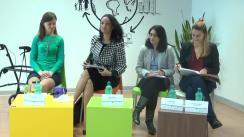 """Conferință de presă a Fundației """"Prețuiește Viața"""" despre prezentarea rezultatelor proiectului """"Alege demnitatea!"""""""
