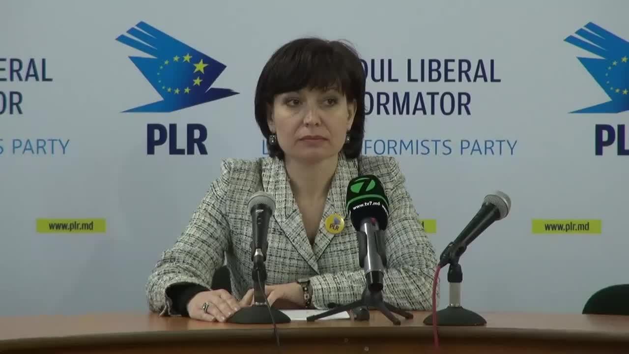 """Coferință de presă cu tema """"Poziția oficială a Partidului Liberal Reformator în legatură cu evenimentele din ultimele zile"""""""