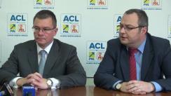 Conferință de presă susținută de prim-vicepreședintele ACL, Mihai Răzvan Ungureanu, la Iași