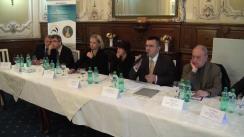 """Dezbaterea organizată de Fundația Universitară a Mării Negre cu tema """"Ungaria între """"Noua Europă"""" și axa Moscova-Budapesta?"""""""