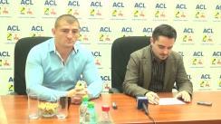 Conferință de presă susținută de consilierii județeni ACL Iași, Cătălin Moroșanu și Eduard Boz