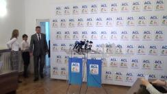 Conferință de presă susținută de Joseph Daul, Klaus Iohannis și Vasile Blaga