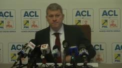 Conferință de presă susținută de reprezentanții ACL, Andreea Paul, Cătălin Predoiu și Corneliu Dobrițoiu