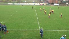 Meciul de rugby între România U18 - Canada U19