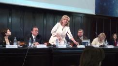 Întâlnirea deputatului Partidului Liberal, Valeriu Munteanu, cu studenții basarabeni din Iași