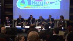 Conferință de presă susținută de comisarul european pentru politici regionale, Corina Crețu, și ministrul Fondurilor Europene, Eugen Orlando Teodorovici