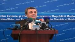 Briefing săptămânal la Ministerului Afacerilor Externe și Integrării Europene