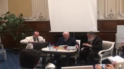 """Lansarea primei ediții în limba română a cărții """"Licio Gelli și Loja masonică Propaganda 2 - între povești și istorie"""", în prezența autorului, Aldo A. Mola"""