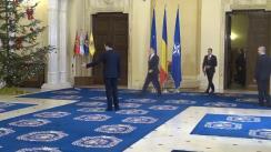 Ceremonia de depunere a jurământului de învestitură în funcție a unor membri ai Guvernului României